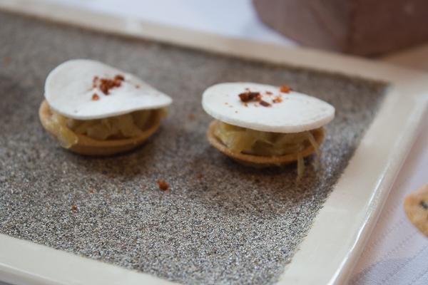 Tartelette à l'oignon