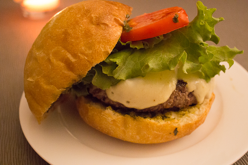 Burger italien entier