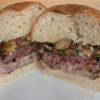Burger d'automne aux girolles et au Mont d'Or
