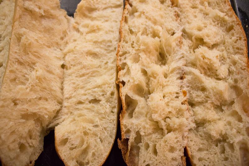 La mie des pains briochés