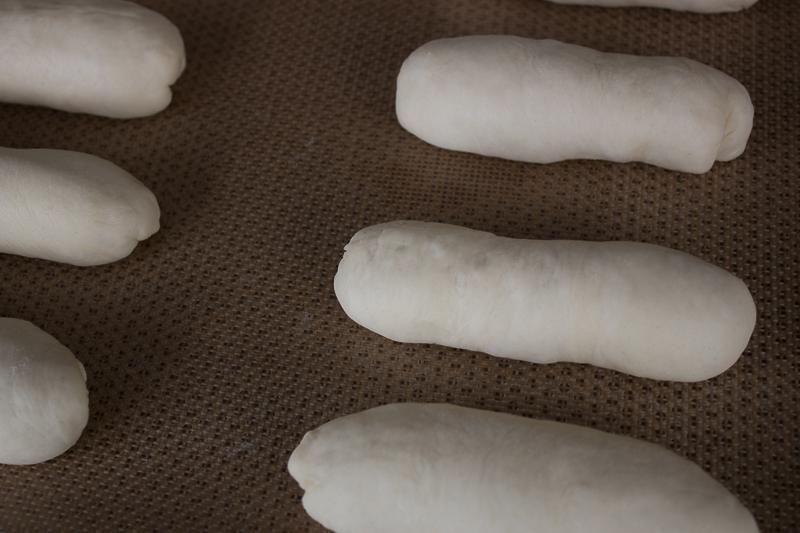 pains au lait avant la pousse
