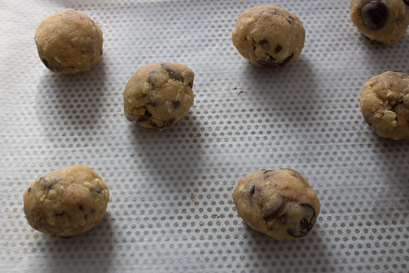 Pâte à cookie express