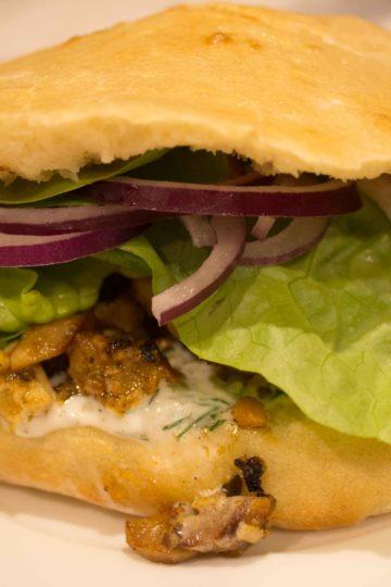 Sandwich kebab maison