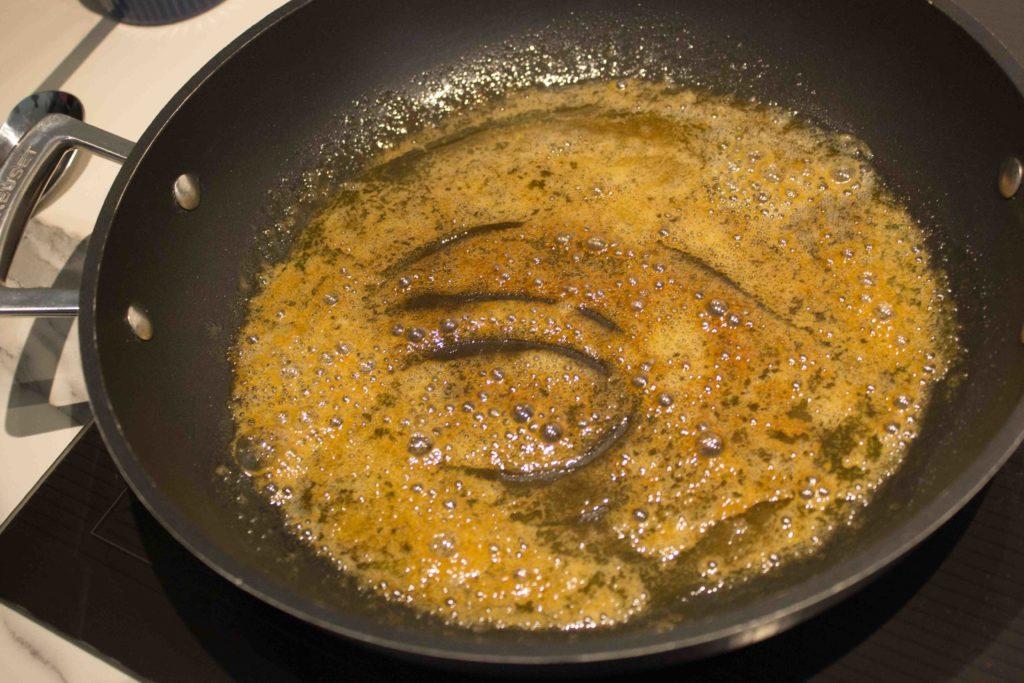 Caramel pour dampfnudle